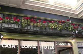 Exterior of Casa Loma Hotel